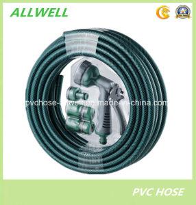 PVC Plastic Fiber Reinforced Car Washing Garden Water Hose pictures & photos