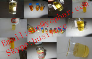 Mixed Light Yellow Liquid Injectable Supertest 450mg/Ml for Lean Muscle Mass Gaining pictures & photos