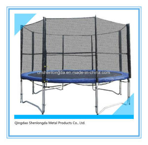 12 FT Outdoor Bounce Trampoline with Enclosure Kids Bungee Trampoline pictures & photos