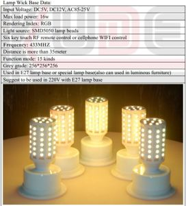 SMD LED Corn Light/LED Corn Lamp for Furnitures pictures & photos