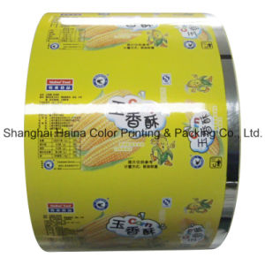 Plastic Compound Printing Food Packaging Film