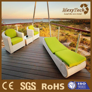 Foshan Composite WPC Solid Decking for Home Decoration Engineering pictures & photos