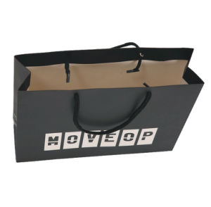 Plastic Shopping Bag with Clip Handle pictures & photos
