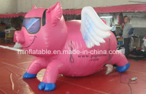 Outdoor Big Inflatable Pig Cartoon /Inflatable Pig