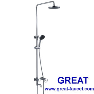 Single Handle Bathroom Rain Shower Column pictures & photos