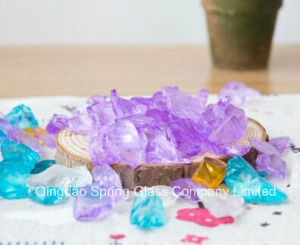 New Arrival Purple Landscape Glass 3-5 Cm Large Particles pictures & photos