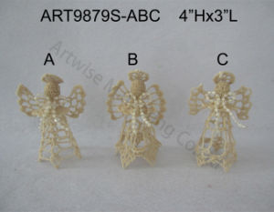 Merry Christmas Decoration Home Gift Angels-4asst. pictures & photos