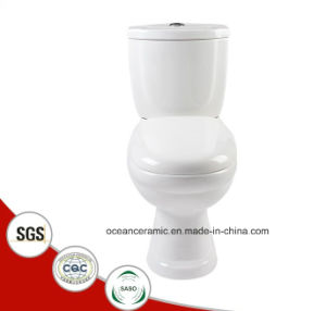 833 Cheap Washdown Two Piece Ceramic Toilet, Project Sanitary Ware pictures & photos