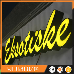 High Brightness Acrylic Front Lit Stainless Steel LED Channel Letters pictures & photos