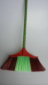 Fashion Design Angle Plastic Broom, Kaa103 pictures & photos