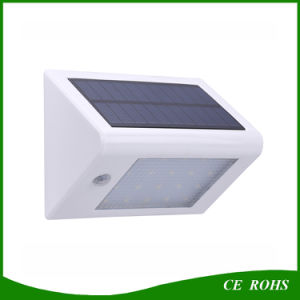 Outdoor 350lm 20 LED Solar Power PIR Motion Sensor Garden Yard Wall Light pictures & photos