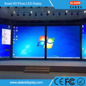 Stage HD Indoor P3 Full Color Rental LED Screen Display pictures & photos