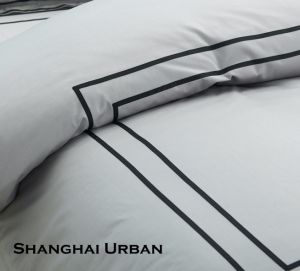 Hotel Supply 200tc Cotton Bed Sheet Hotel Linen pictures & photos