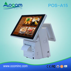 POS-A15 High Quality Dual Screen Touch POS System pictures & photos