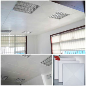 Perforated Powder Coated White Color Aluminum Decorative Ceiling with Factory Price pictures & photos