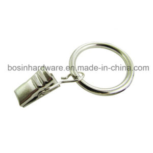 Silver Metal Curtain Ring Clip for Window Curtain pictures & photos