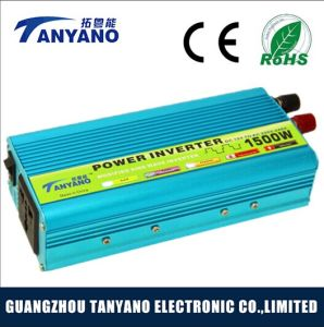1500W DC to AC Modified Car Solar System Inverter