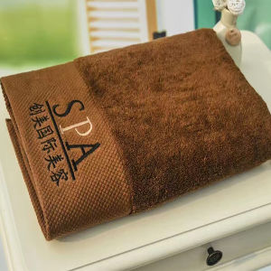 Wholesale Embroidery Towels SPA Bath Towel Luxury Hotel 100%Cotton pictures & photos