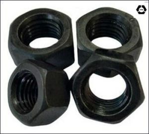 DIN6915 Carbon Steel Hex Nut/Structural Nuts with Black pictures & photos