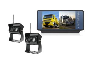 "7"" Two-Way Wireless System Truck Camera with Mirror Monitor, Ce and RoHS Directive-Compliant pictures & photos"