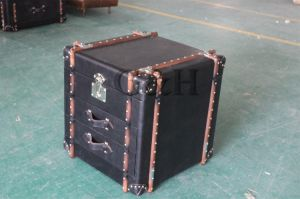 High Quality Antique Leather Trunk, Wooden Trunk pictures & photos