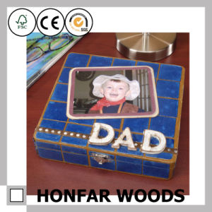 DIY Raw Wooden Box Father Day Gift Box pictures & photos