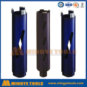 Segmented Wet Dry Diamond Core Drill Bit for Concrete Stone pictures & photos