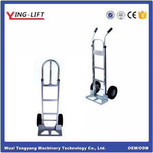 High Quality Two Wheels Aluminium Hand Trolley pictures & photos