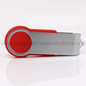 Swivel Plastic USB Flash Drive (UL-P025-02) pictures & photos