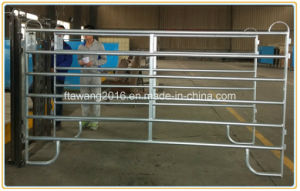 Galvanized Metal Livestcck Fence Panel/Cattle Yard Fencing Temporary Panel pictures & photos