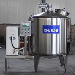 Stainless Steel Storage Raw Milk Cooler 500L 1000L 2000L pictures & photos