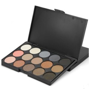 Earth Color 15 Colors Eye Shadow Palette, Pearl Light Texture pictures & photos