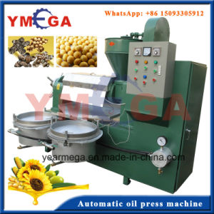 Commercial Production Automatic Edible Screw Seed Oil Press From China pictures & photos