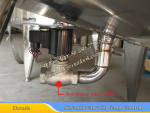 500L Hot Water Heatinbg Mixing Tank with Cooling Jacket pictures & photos