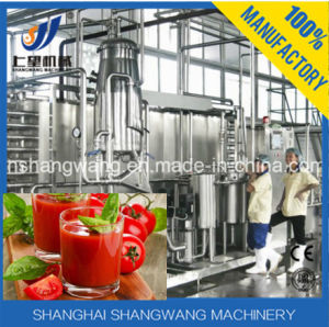 Tomato Paste Production Line/Tomato Juice Filling Machine pictures & photos