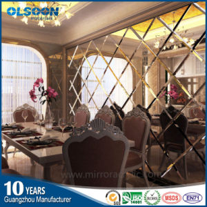 Olsoon Acrylic Mirror Sheet for Home Wall Decoration pictures & photos