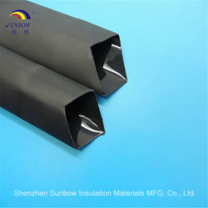Black 3: 1/4: 1 Heat Shrinkable Tubing Dual Wall Heat Shrink Tube Sleeve pictures & photos