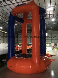 Kids N Adults Inflatable Bungee Trampoline with Harness for Sale From Ultimate Inflatables pictures & photos