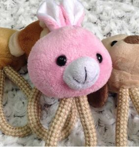 Cute Rabbit, Dog, Monkey, Bear Design Fluffy Pet Toy pictures & photos