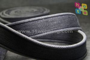 40mm Oeko-Tex Certified Woven Stone Washed Cotton Webbing Belt pictures & photos