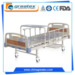 Manual Hospital Bed Electric Medical Furniture Equipment (GT-BM5205) pictures & photos