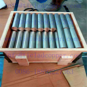 Titanium Clad Oxygen Free Copper Wire for Printed Circuit Board Industry pictures & photos