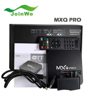 4k Mxq PRO Android 1g/8g Android TV Box in Stock pictures & photos