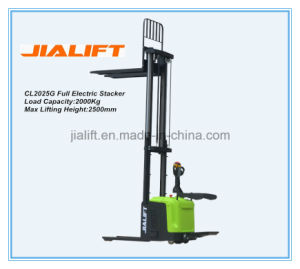 Electric Stacker Cl2025g pictures & photos