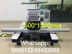 Wonyo Big Area Single Head Embroidery Machine Wy1201cl pictures & photos