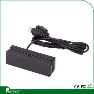 USB/ PS2/ RS232 Interface Msr100 Magnetic Card Reader pictures & photos