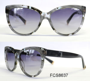 High Quality Good Design Acetate with Ce for Women Eyewear Sunglasses pictures & photos