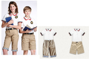 China Factory Made Good Quality Cheapest School Uniform Suits pictures & photos