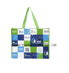 PP Fabric Handle Bag with Customized Printing (YYNWB061) pictures & photos