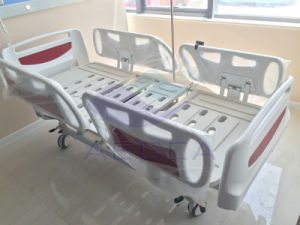 AG-By003c Use Linak Motors for Five Functions Hospital ICU Bed pictures & photos